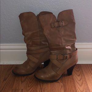 APT 9 Mid Calf Boots